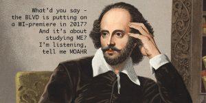 Taking Shakespeare